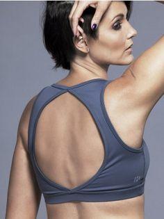 29545241f1dd8 Power Play Sports Bra in Cool Grey Fitness Fashion
