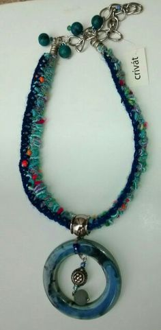 Crivát, collar cerámica. 315 Eliana IPSI