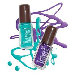 New mark. Nailed It Matte Trend Mini Nail Lacquers Take your nail looks to the matte with these limited-edition, shine-free shades, including matte teal appeal and matte violet riot. each shade. Avon Other Avon Nail Polish, Avon Nails, Nail Lacquer, Mark Makeup, New Makeup Trends, New Nail Colors, Avon Mark, Makeup Deals, Avon Representative