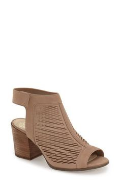 d2d76656deb4 Vince Camuto  Lavette  Perforated Peep Toe Bootie (Women) (Nordstrom  Exclusive)