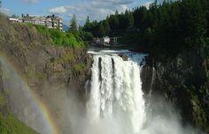 Visitar Twin Peaks: sitios para ver en Washington State