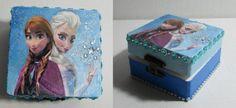 caja decorada de frozen - Buscar con Google