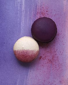 Purple Macaroons ~ Photo by...Doswell and McLean©