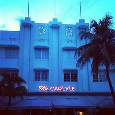 Art Deco architecture - South Beach, Miami #miami #southbeach