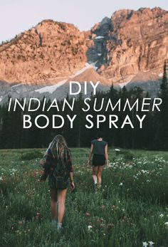 DIY Indian Summer Body Spray