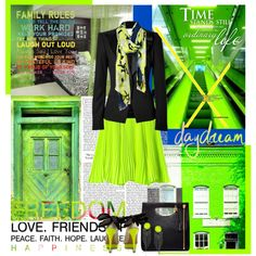 """Neon"" by claudiakohl on Polyvore"