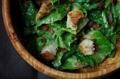Gojee -  Caesar Salad with Pancetta by Food 52