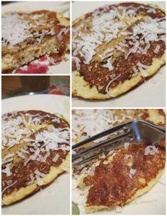 Tropical Protein Pancakes