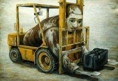 日本超現實主義畫家 – 石田徹也 | KAIAK | 城市美學的新態度