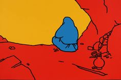The Hermit 1967 by Patrick Caulfield 1936-2005