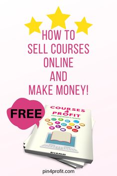 HOW TO SELL COURSES ONLINE AND MAKE MONEY