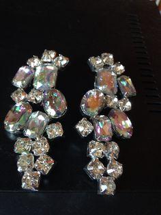 oggi #orecchini in #cristallo fatti a mano. Info@oro18.eu #oro18 #bijoux #bigiotteria  Presto su www.oro18.eu