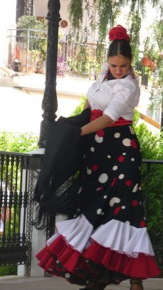 Flamenco in Mijas Pueblo town square. Andalucía Spain.  #Spain  http://www.costatropicalevents.com/