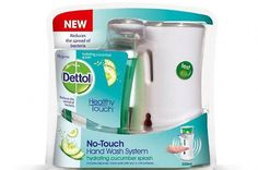 Lysol Healthy Touch No-Touch Hand Soap System,Soothing Cucumber kit ml) Liquid Hand Soap, Beauty Supply, Starter Kit, How To Stay Healthy, Aloe, Cucumber, Health And Beauty, Personal Care
