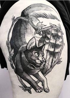 Fuki Fukari ink cat tattoo