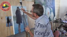 Oil painting techniques and tutorial for beginners or artists of all ages and skills. In this fine art TV show episode Paul Coney is interviewed with Colour . Oil Painting Pictures, Oil Painting Techniques, Acrylic Painting Lessons, Painting Videos, Oil Painting Abstract, Oil Paintings, Mixing Paint Colors, Ombre Background, Digital Painting Tutorials