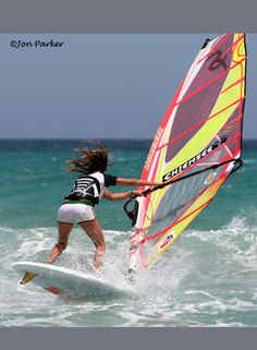 Windsurfing...I really want to get back into it someday *sigh* (Although, I always did it on a lake never in the ocean)