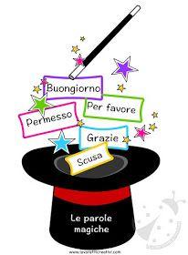 Játékos tanulás és kreativitás: Képek varázsszavakhoz School Diary, I School, Middle School, Creative Activities For Kids, Creative Teaching, Classroom Design, Classroom Themes, Birthday Display, Italian Vocabulary