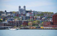 The capital and largest city in Newfoundland and Labrador, St. John's is an artistic, colorful city often described as a small town version of San Francisco. Newfoundland and Labrador Tourism Great Places, Beautiful Places, Places To Visit, Gros Morne, Discover Canada, America And Canada, North America, Canadian Travel, Newfoundland And Labrador