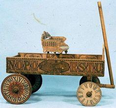 Kate Greenaway Educational Wagon 1883-1893.