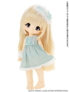 """Azonetto - Product Details """"! KIKIPOP Romantic Frill Sugar Milky blond / Hair Color: Milky blond"""""""
