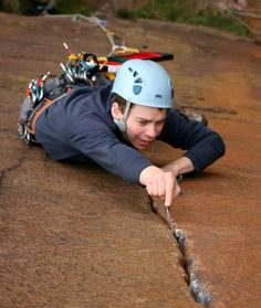 trad climbing - Goog