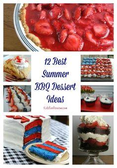 12+ Best Summer BBQ Dessert Ideas For Your Next Cookout! #ad