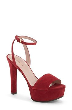 Gucci 'Leila' Ankle Strap Platform Sandal (Women) available at #Nordstrom