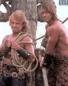 Iolaus and Hercules onboard the Argo. Series Movies, Tv Series, Michael Hurst, Hercules The Legendary Journeys, Kevin Sorbo, Fantasy Shows, Evil Stepmother, The Wb, Xena Warrior Princess
