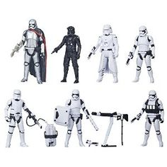 Star Wars The Force Awakens 3.75-Inch Figure Troop Builder 6-Pack [Amazon Exclusive] from Star Wars Disc: Affiliate Link
