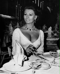 Sophia Loren in the mid-1960's