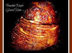 Yum... I'd Pinch That! | Bourbon Maple Glazed Ham: By Sherri Logan Williams, Danville, VA (logansw)