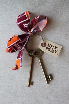 Virginia Tech Hokies Key Play Accessory for by reCollectCrafts