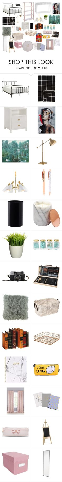 """pieza"" by zinara-ponce on Polyvore featuring interior, interiors, interior design, hogar, home decor, interior decorating, Weston, Alicia Adams, Lite Source y Argento SC"