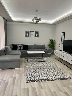 Classy Living Room, Living Room Decor Cozy, Living Room Grey, Small Living Rooms, Living Room Modern, Living Room Interior, Home Room Design, Living Room Designs, House Design