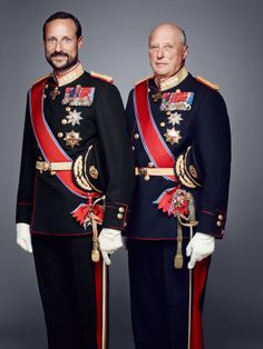 kongehuset.no:  The Norwegian Royal Court released new photos of the Royal Family, 2016-King Harald and Crown Prince Haakon