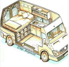 Connect with the van life community on our forum. Ask questions, engage, interact discuss, and unite with fellow nomadic!You Must Know About Minivan Camper Conversion - Vanlife & Caravan RenovationND - I like this style for a van sketch - PhotopinJust bec Van Camping, Camping Diy, Luxury Camping, Camping Hacks, Family Camping, Airstream Camping, Couples Camping, Jeep Camping, Airstream Trailers