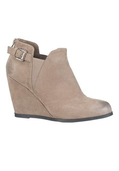 paisley wedge with buckle and gore - #maurices