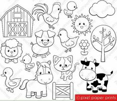 Jungle Friends Digital Stamps Clipart by pixelpaperprints - Coloring PagesBaby Sailor Stamps Digital stamps Clip art by pixelpaperprintsAlphabet Digital Stamps Part 1 ABC clip art SchoolClip art images by Pixel Paper Prints. Buy 3 get 1 free von pixe
