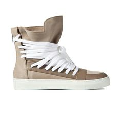 Kris Van Assche sneaker. I love it because it reminds me of a straightjacket for feet.