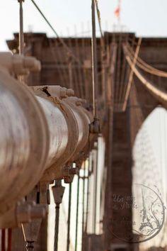New York Photography Brooklyn Bridge NYC by UnAirDeParisByAlbane,  #newyork #brooklynbridge