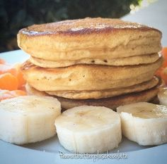 Peanut Flour ABS Protein Pancakes! Gluten Free---High Protein---Low Carb---Fluffy and Delicious!! This recipe literally takes under 5 minutes!   Click on the image and check out this healthy high protein pancake recipe!