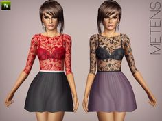 Sims 3 Female Clothing http://www.thesimsresource.com/downloads/details/category/sims3-clothing-female/title/be-my-valentine/id/1231853/