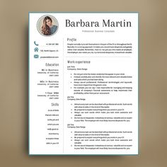 professional resume template 1234 page cv template cv