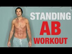 -STANDING AB WORKOUT- •This is a 4-Part Ab Circuit Workout that hits very muscle in your core. •To complete 1 round you will need to do 4 sets of 25 reps for...