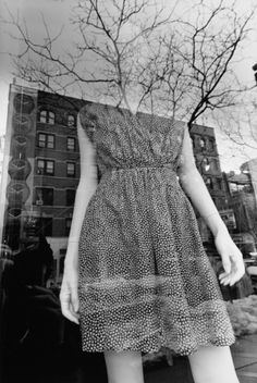 Lee Friedlander- the moment you believe it's real, you'll realize there are more outside of the fixed boundary.