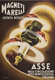 Filippo Romoli (1901-1969), Magneti Marelli. (I)