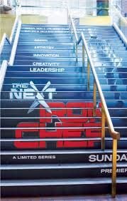 Stair graphics are a great promotional asset because the message is never missed
