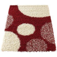 Pluto Rug ($36) ❤ liked on Polyvore featuring home, rugs, shag rug, shag area rugs and patterned rugs