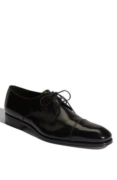 Here''s a shoe that puts you over the top! Once the wedding is over you can use these for everday work! They even look great with nice jeans and a sport coat! Salvatore Ferragamo 'Faraone' Cap Toe Oxford (Men) available at Nordstrom